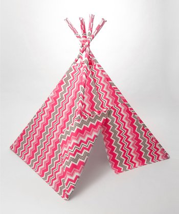 Electric Pink Outdoor Teepee