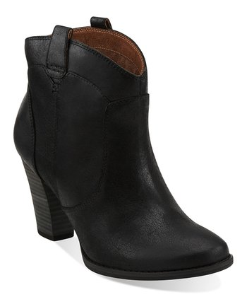 Black Heath Harrier Ankle Boot