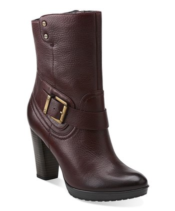 Burgundy Lida Sayer Ankle Boot