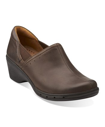 Dark Brown Un.Lory Clog