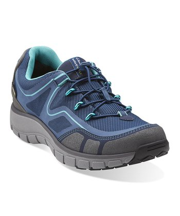 Navy Wave.Trail Gore-Tex Running Shoe