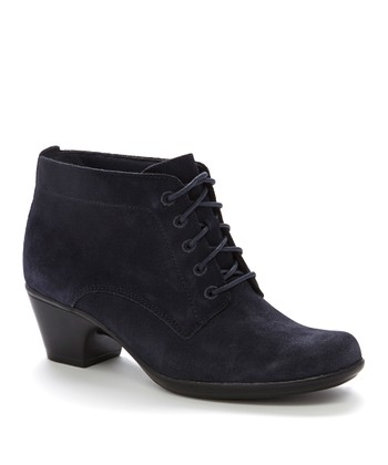 Navy Ingalls Lace Q Boot