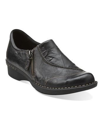 Black Whistle Max Leather Slip-On Shoe