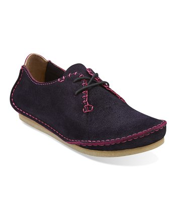 Purple Suede Faraway Field Lace-Up Shoe