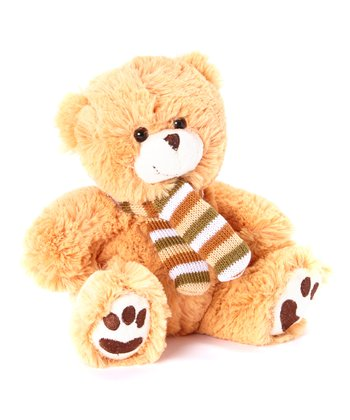 Latte Scarf Bear Plush Toy