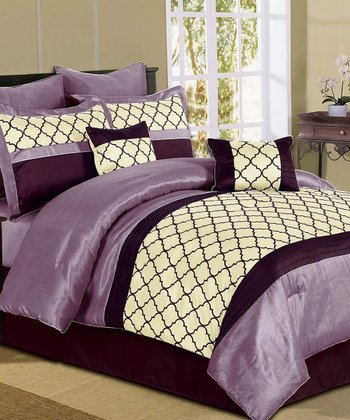 Plum Park Avenue Comforter Set