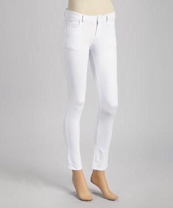 GAZOZ, INC. White Skinny Pants