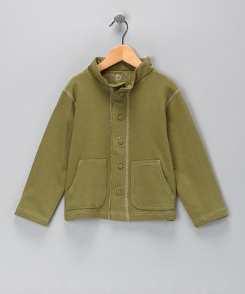 Iguana Army Jacket - Toddler & Boys