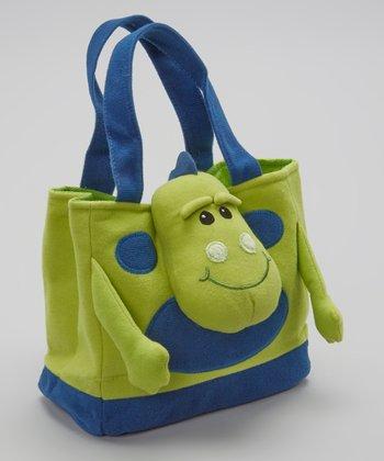 Green Sully Saurus Tote Bag
