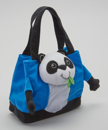 Blue Dandy Pandy Tote Bag