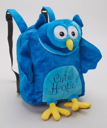 Blue Cutie Hootie Backpack