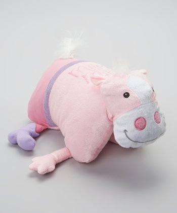 Pink Mary Mare Foldable Pillow