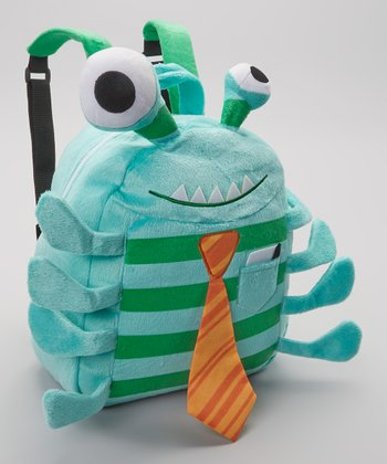 Turquoise Dr. Goo Cuddly Creature Backpack