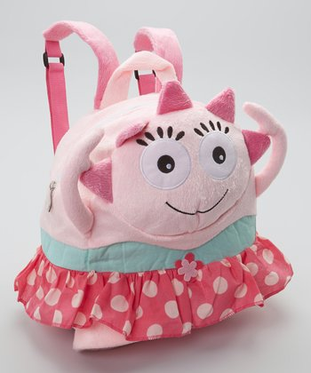 Pink Tina Dancer Cuddly Creature Backpack