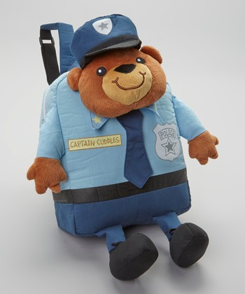 Blue Captain Cuddles Backpack