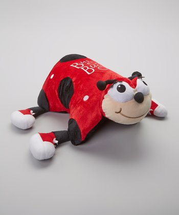 Red Busy Bug Foldable Pillow