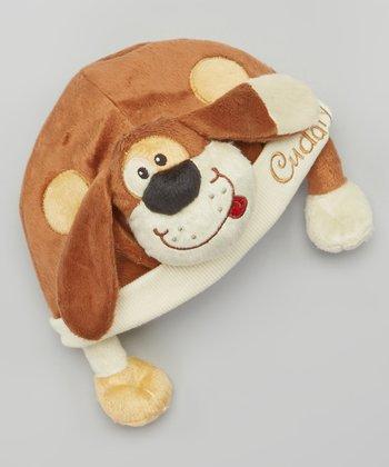 Brown Cuddly Dudley Beanie