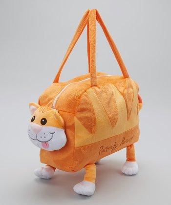 Orange Purrrdy Penny Duffel Bag