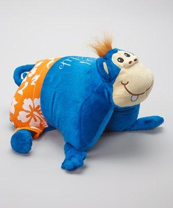 Blue Malibu Moe Foldable Pillow