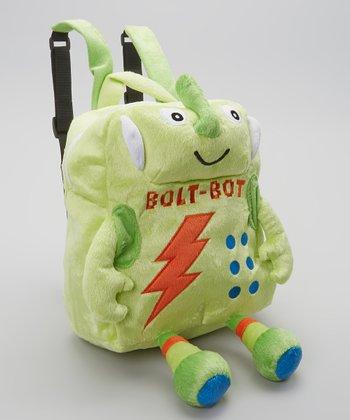 Green Bolt-Bot Backpack