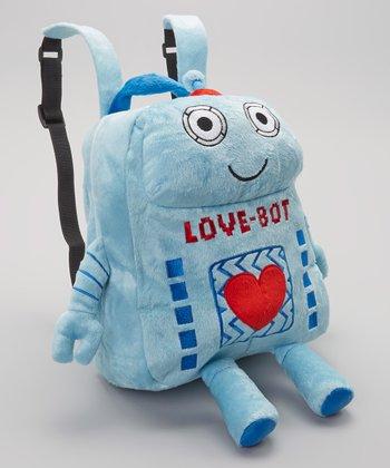 Blue Love-Bot Backpack
