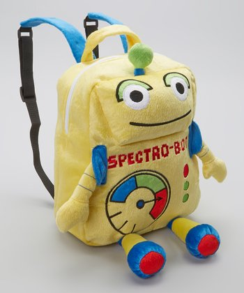 Yellow Spectro-Bot Backpack