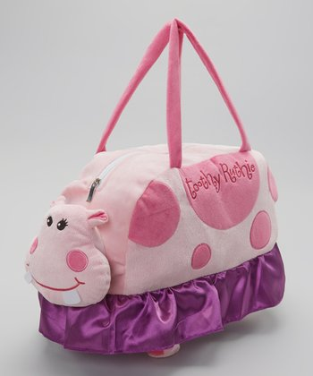 Pink Toothy Ruthie Duffel Bag