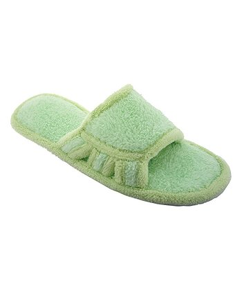 Patina Green Chiva Slipper - Women
