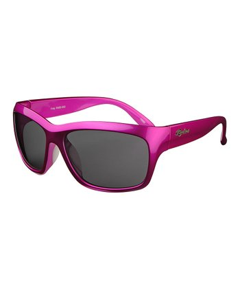 Neon Pink Fray Sunglasses