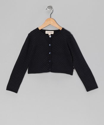 French Navy Suri Cardigan - Toddler & Girls