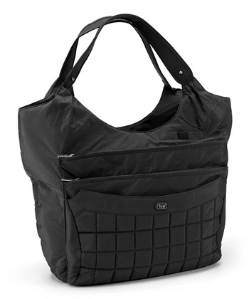 Midnight Black Hopscotch Tote