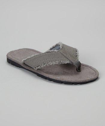 Empire Gray Flip-Flop