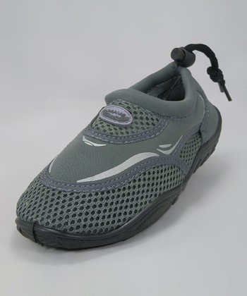 Gray Mesh Water Shoe
