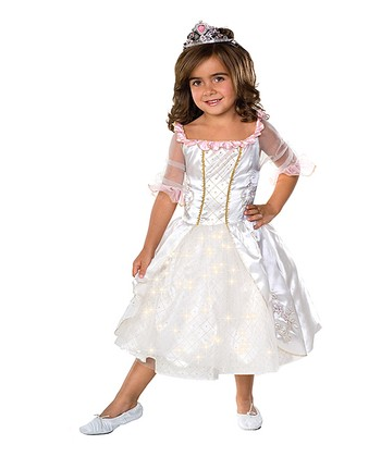 Rubie's White Fairy Tale Princess Dress-Up Outfit - Toddler & Girls