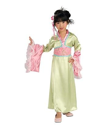 Rubie's Pink Plum Blossom Princess Dress-Up Set - Girls