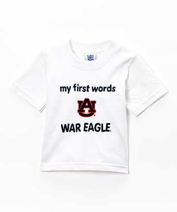 Auburn Tigers 'My First Words' Tee - Infant