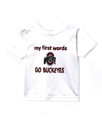 Ohio State Buckeyes 'My First Words' Tee - Infant