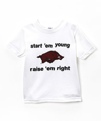Arkansas Razorbacks 'Start 'Em Young' Tee - Toddler
