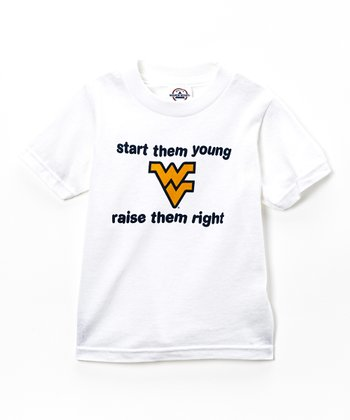 West Virginia Mountaineers 'Start 'Em Young' Tee - Toddler
