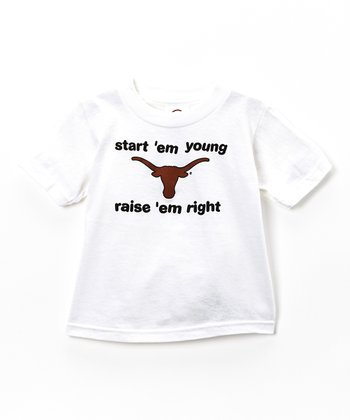Texas Longhorns 'Start 'Em Young' Tee - Toddler