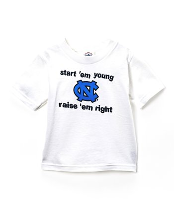 North Carolina Tar Heels 'Start 'Em Young' Tee - Toddler
