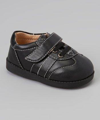 Sneak A' Roos Black Stitch Squeaker Shoe