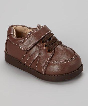Sneak A' Roos Brown Squeaker Shoe