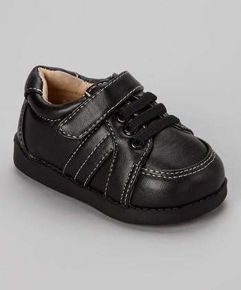 Sneak A' Roos Black Squeaker Shoe