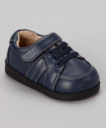 Sneak A' Roos Navy Squeaker Shoe