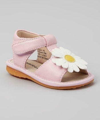 Laniecakes Light Pink Daisy Squeaker Sandal