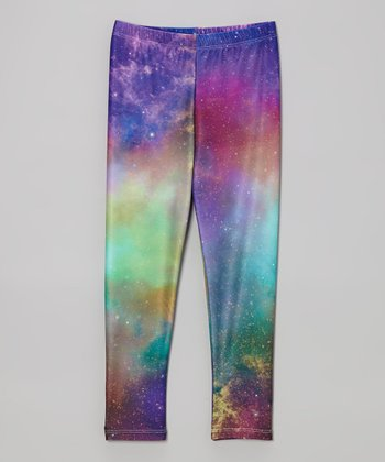 Pretty Prancing: Girls' Leggings