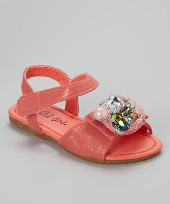 Coral Jewel Julia Sandal