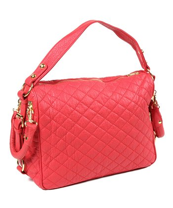 Red Louise Shoulder Bag