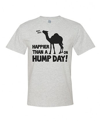 Ash Gray 'Happier Than a Camel' Tee - Adult
